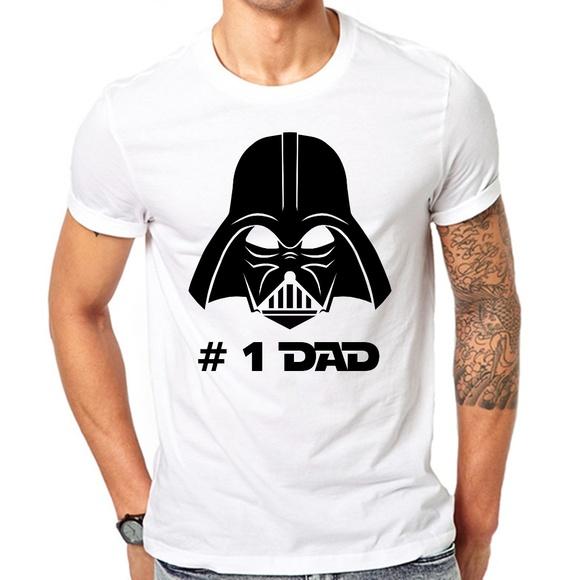 8a4147f3c Star Wars Shirts | Fathers Day T Shirt Best Dad Ever Tshirt Darth ...